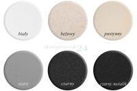 kolory zlewozmywaków granitowych firmy Brenor