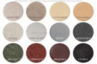 Okrągły zlew kuchenny ZGR-06A kolory